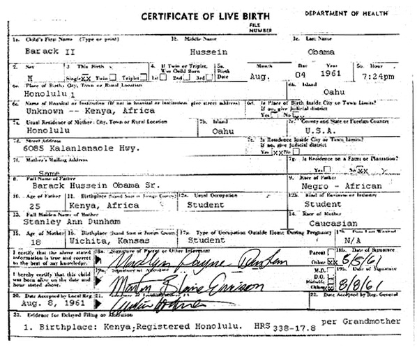 The candid blogger rense doctors obama birth certificate fails ever since barack obama became a candidate jeff rense of httprense has made every effort to attack obama caring little about the accuracy of the yelopaper Choice Image