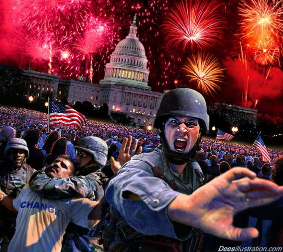 'CHANGE' You Never Planned On ... or Thought Would Happen Here, In America. The 'Police State' Isn't Coming ... It's HERE!