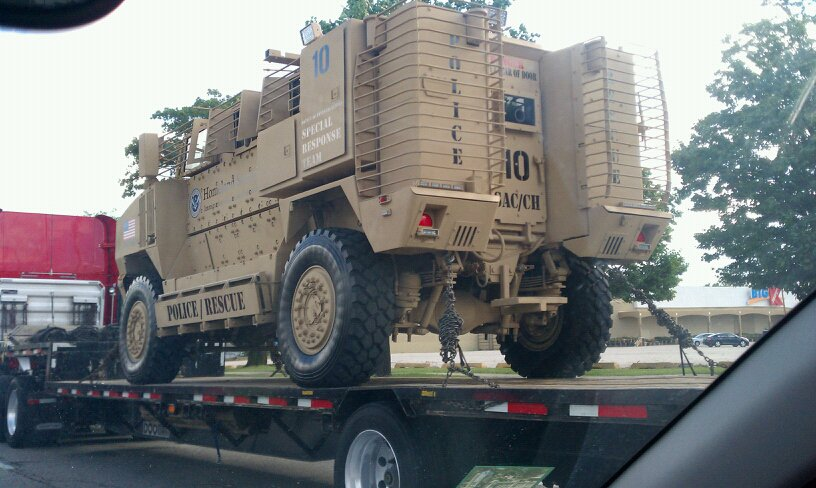 What are the MiliPolice Planning On Doing With These Heavily Armored Vehicles? image003%207