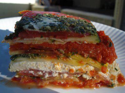 Raw Vegan Lasagna - Recipe And Photo!