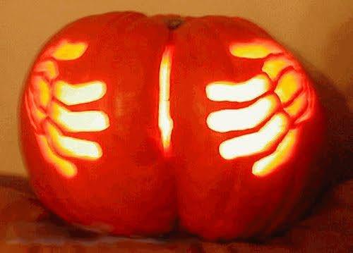 Wild n crazy pumpkin carvings