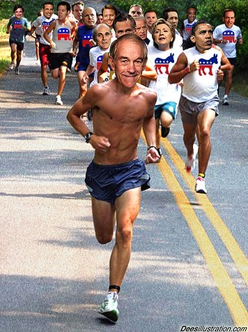 Ron Paul, looking good