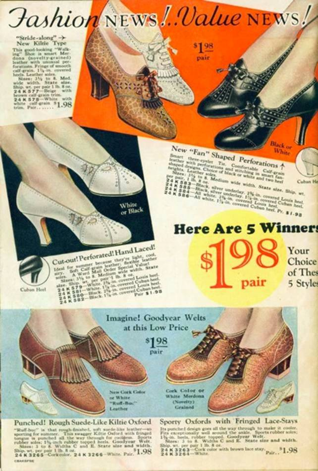 1934 Montgomery Ward Catalogue