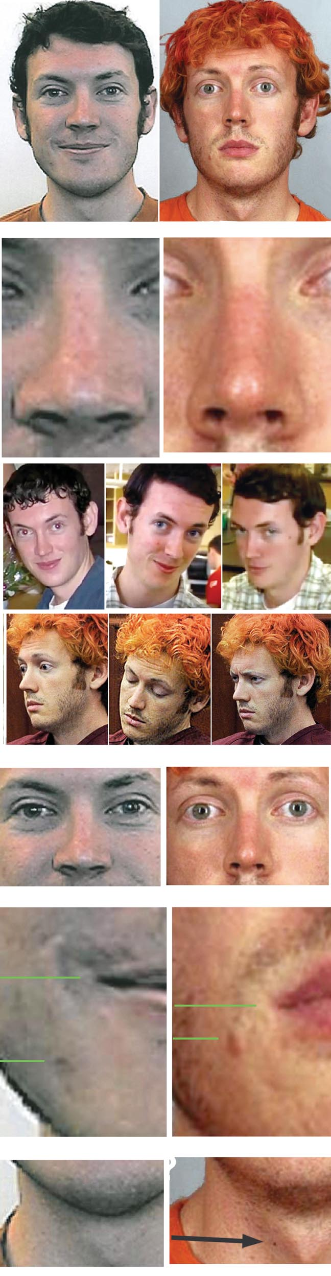 comparison between james holmes and other Special note: please seriously consider posting this article to facebook so the information can be widely disseminated there are share buttons at the end of this article thank you [updated 02 aug 2015] - so we have an outburst from a deranged lady claiming that she is the mother of james holmes, who was taken from.