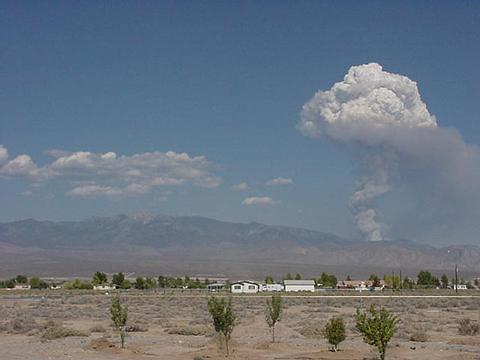 New Mushroom Cloud Area Of Pahrump Nevada Page 1
