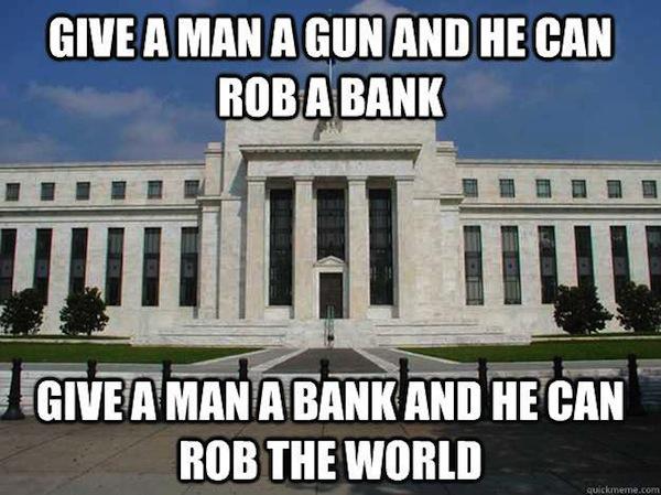 Banks Rob World