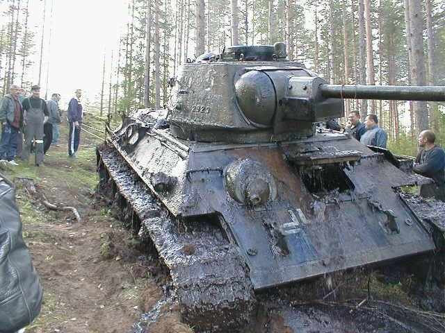Update On Recovered T-34 Tank With German Markings