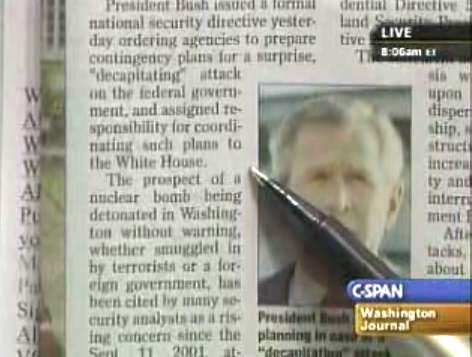 Bush Replaced REX84 With New Martial Law EO Sahdow2
