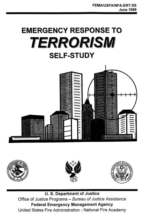 wct targeted on 1999 fema  u0026 39 terror u0026 39  book cover