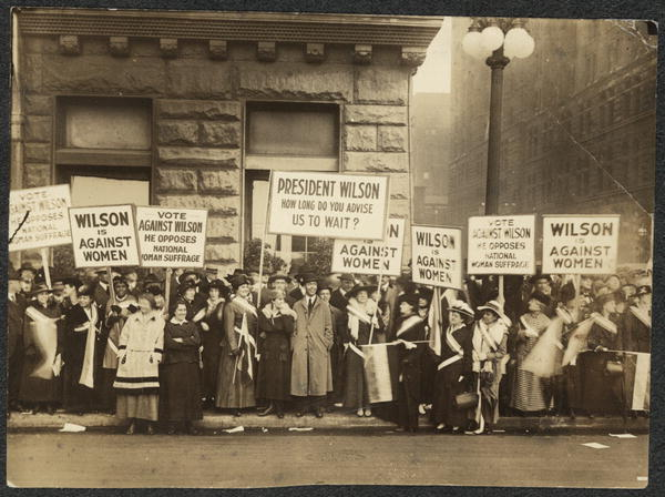 not until 1920 that women Women Rights To Vote 1920