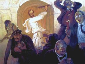 Jézus a templomban