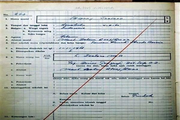 barack birth certificate obama soetoro barry dunham muslim ann lolo indonesia kenya obamas 2007 finally registration indonesian stanley maya child