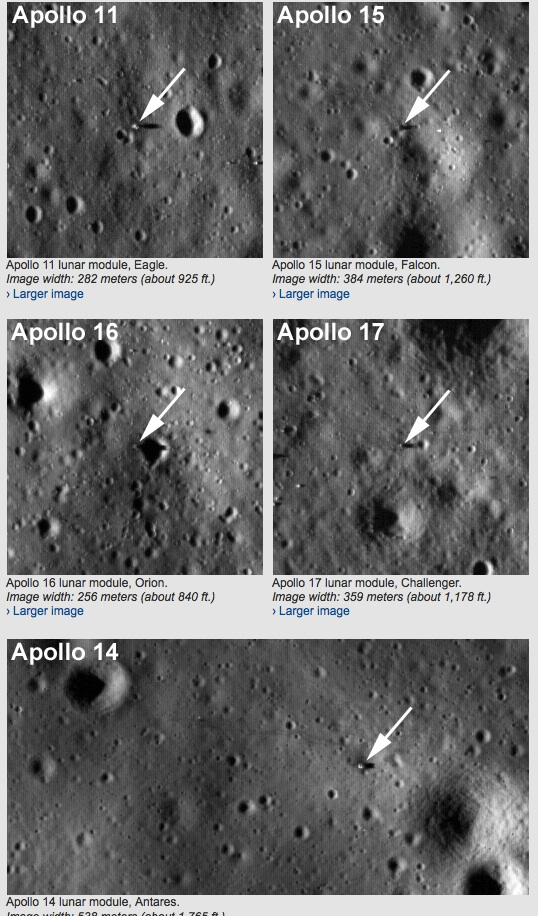 NASA LRO Sees Apollo Landing Sites Page 9 Lets Roll Forums