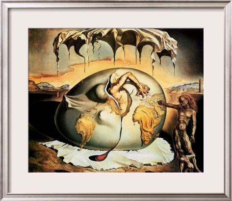 an analysis of geopoliticus child by salvador dali