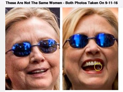 hillary s body double it s all in the nose they are gambling people