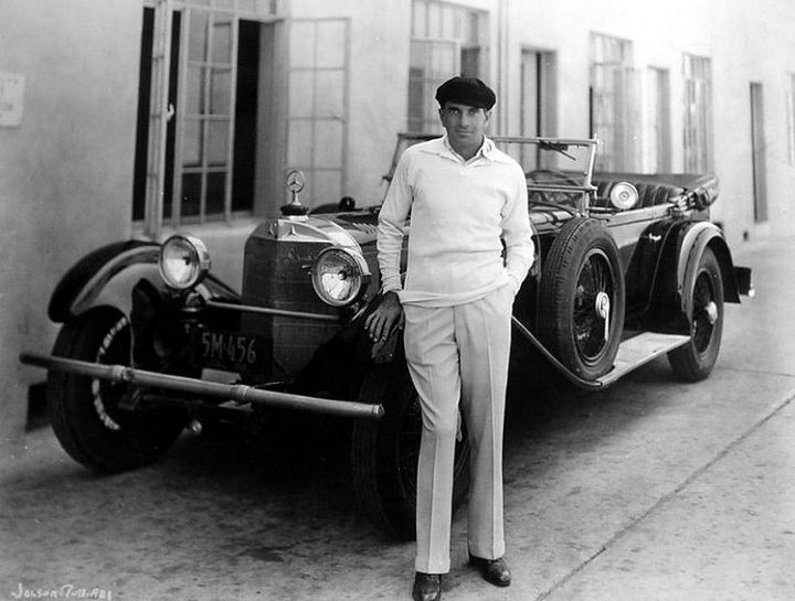 Fabulous Hollywood Stars And Their Classic Cars