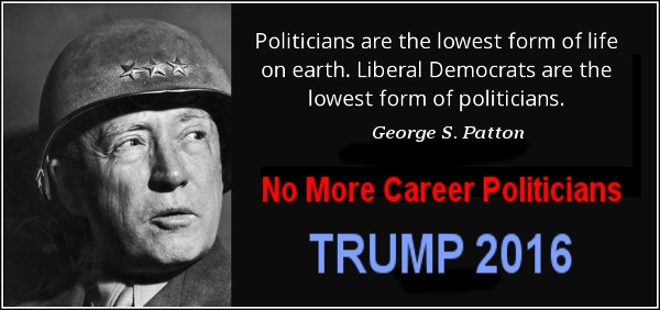 George Patton on Politicians