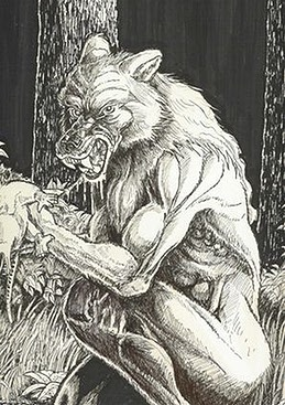 Werewolves such as Monster of