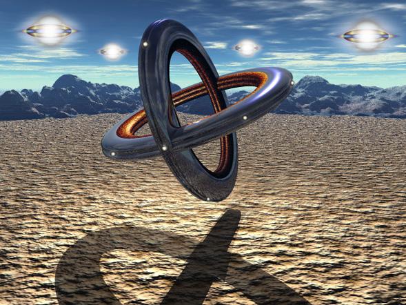 предположительно именно так выглядит колесо Иезекииля